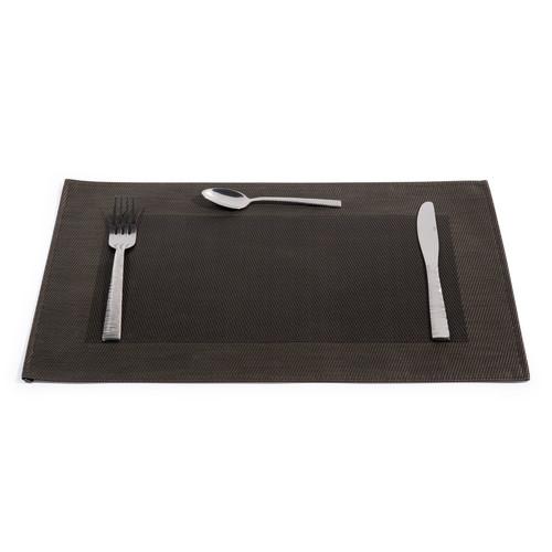 Set de table cybercaf noir maisons du monde - Set de table noir ...