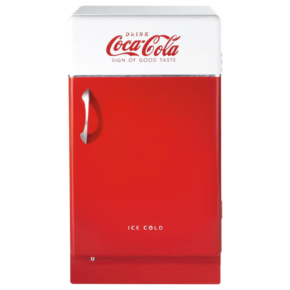Buffet en bois rouge L 50 cm CocaCola  Maisons du Monde