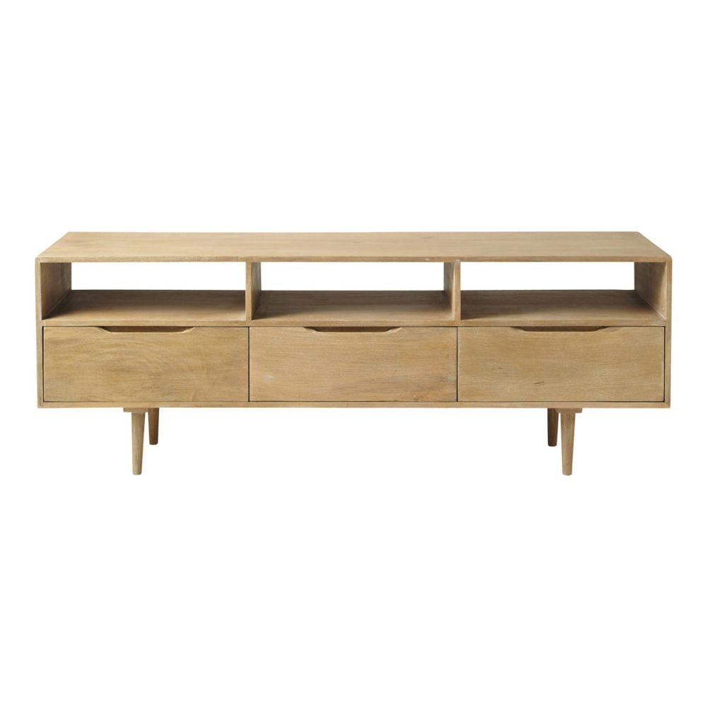 Mueble tv vintage trocadero maisons du monde for Mueble tv vintage
