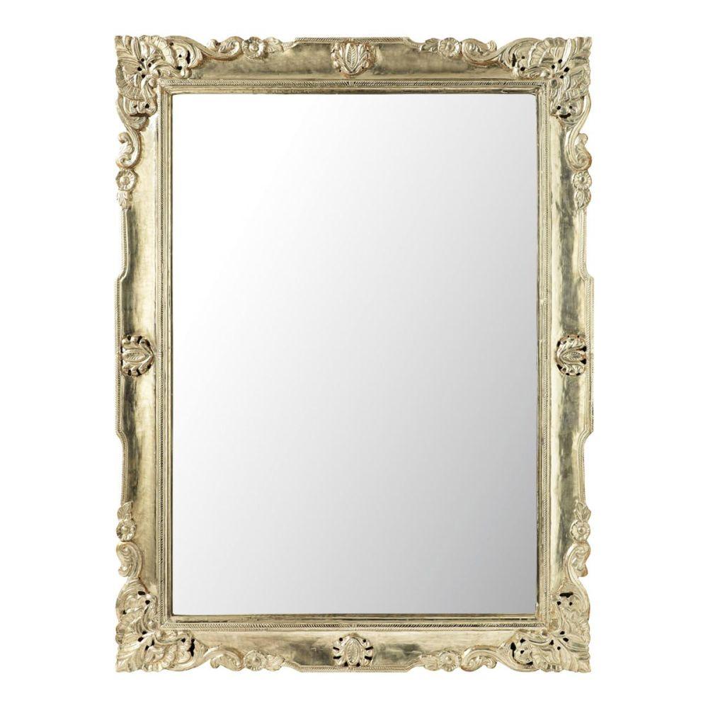 Miroir argent balkans maisons du monde for Miroir d argent