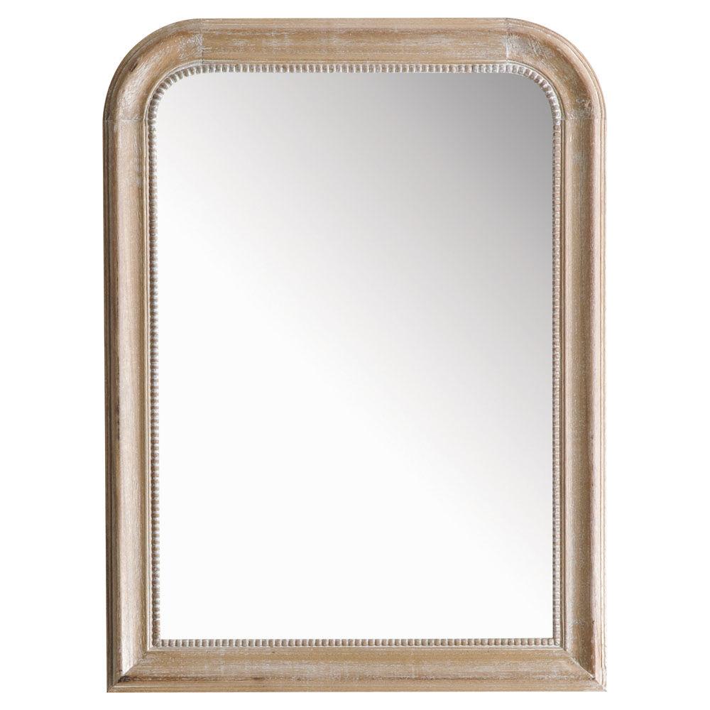Miroir louis naturel 80x60 maisons du monde for Miroir 90x120