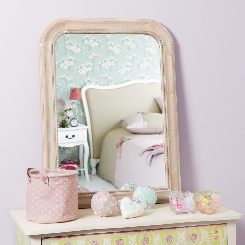 Miroir louis naturel 80x60 maisons du monde for Miroir 80x60