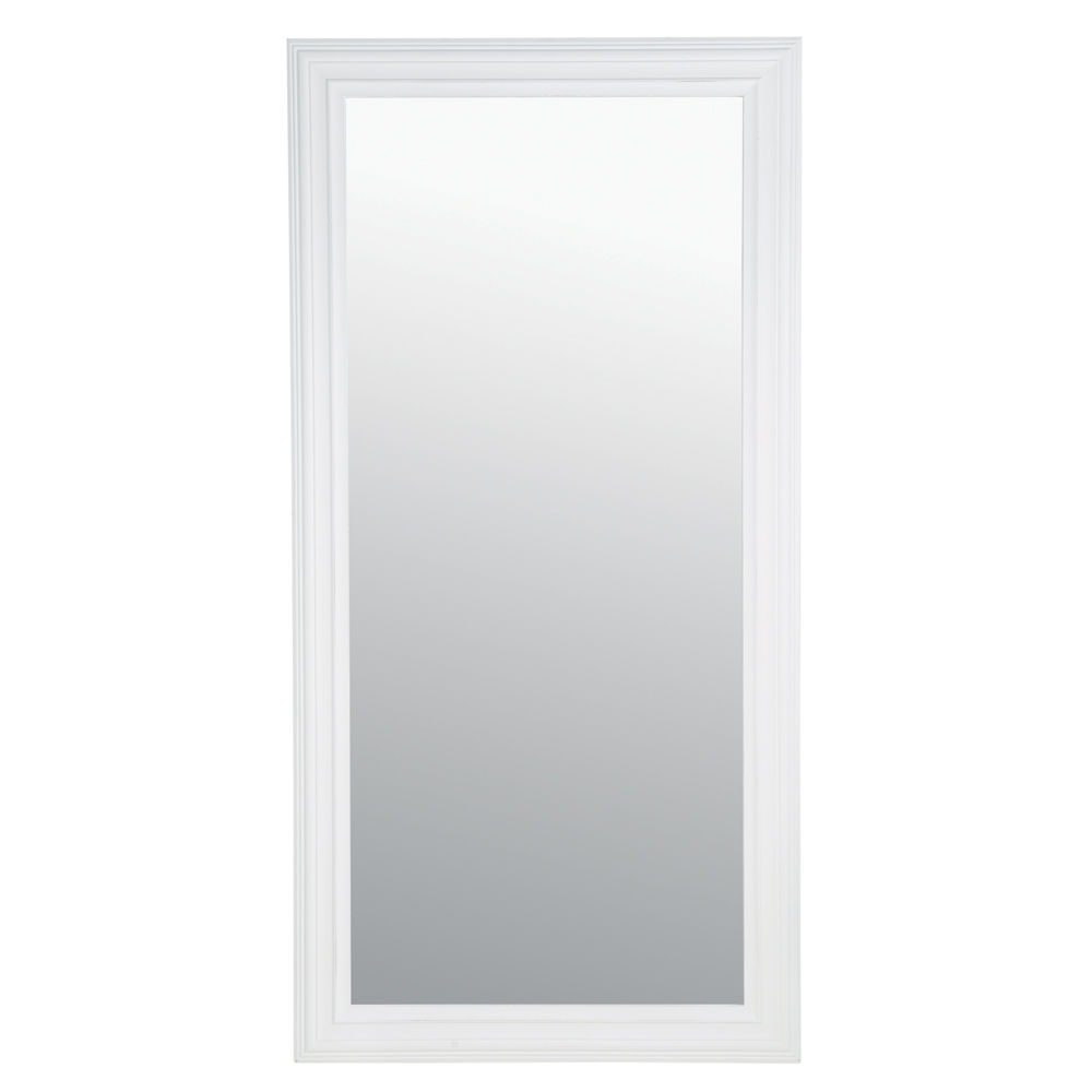 Miroir Blanc Mural Gascity For