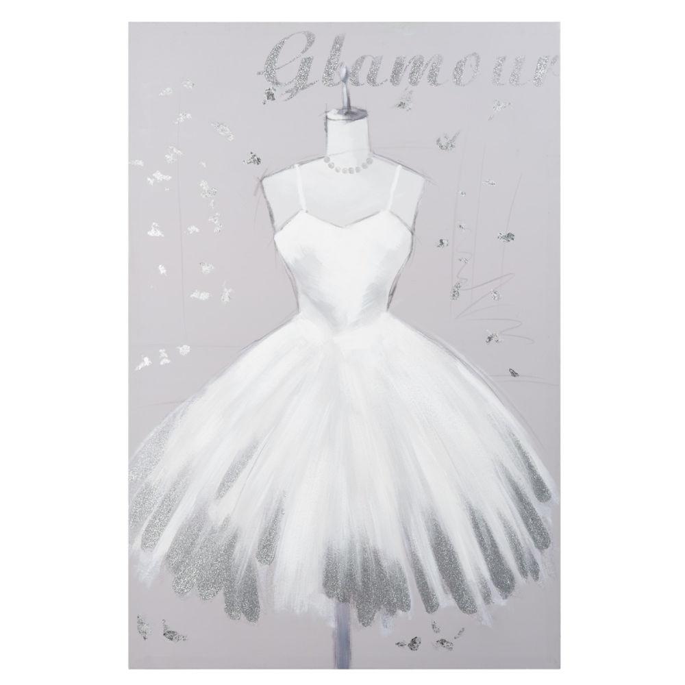 Toile Grise 60 X 90 Cm Glamour Dress Maisons Du Monde