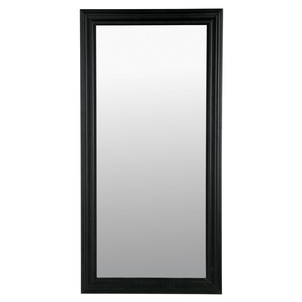 Miroir noir for Miroir rectangulaire noir