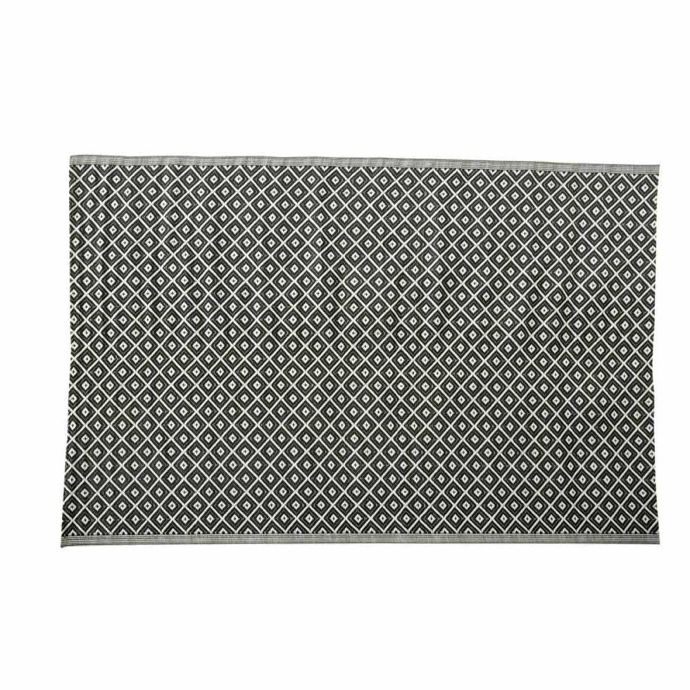 Maison Du Monde Tapis Exterieur #1: Tapis Du0027extérieur En Polypropylène Noir Et Blanc 180 X 270 Cm KAMARI |  Maisons Du Monde