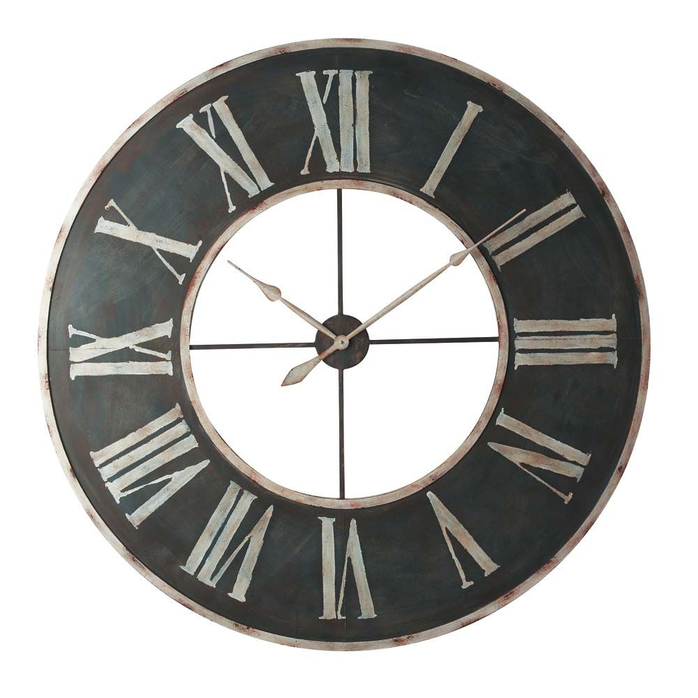 Maison grande horloge for Horloge murale grande taille