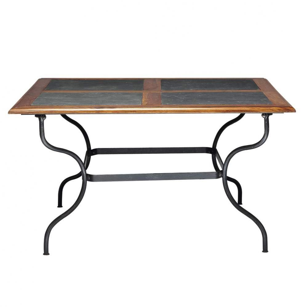 Table d ner lub ron maisons du monde for Table a diner