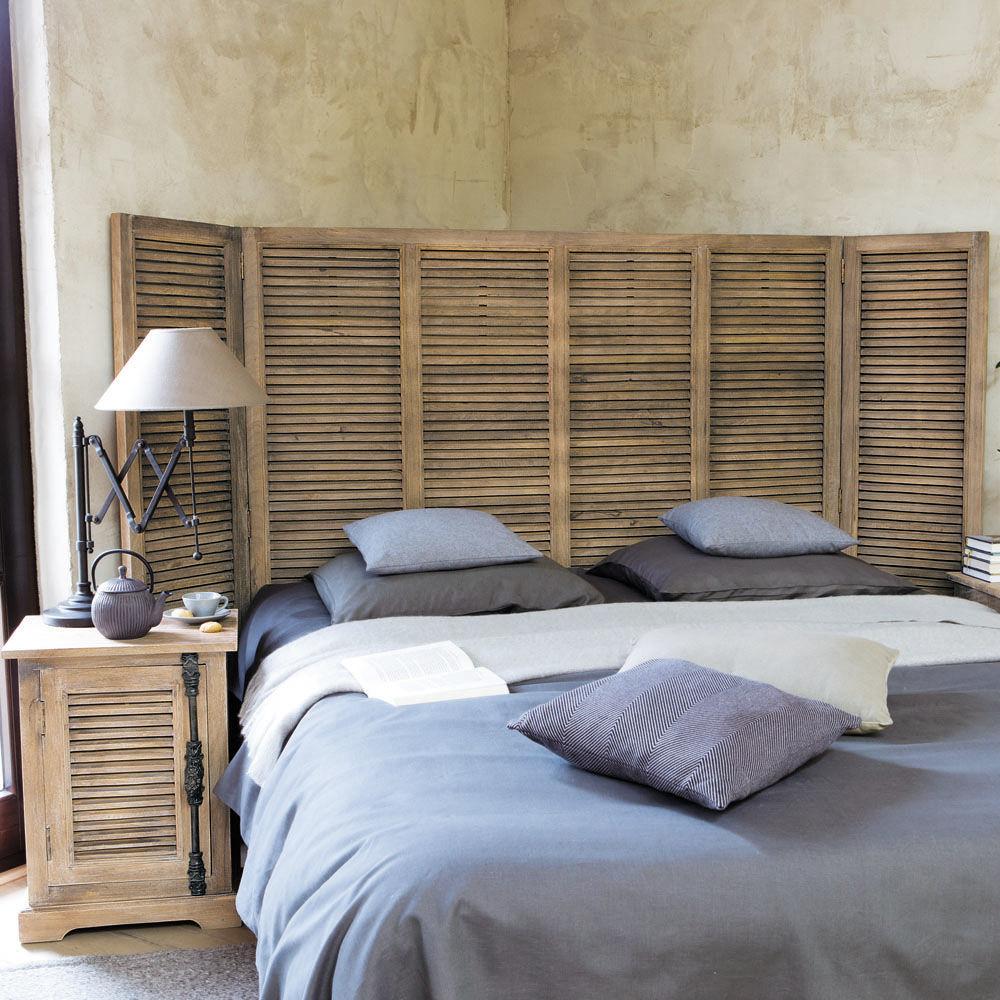 Maisons du monde for Fenetre jalousie en bois