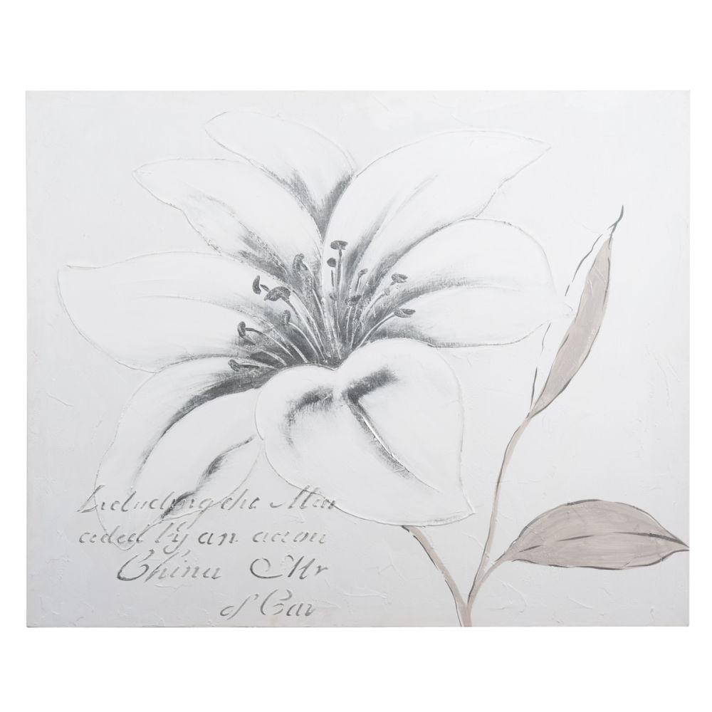 Tableau fleurs maison du monde - Maison du monde tableaux deco ...
