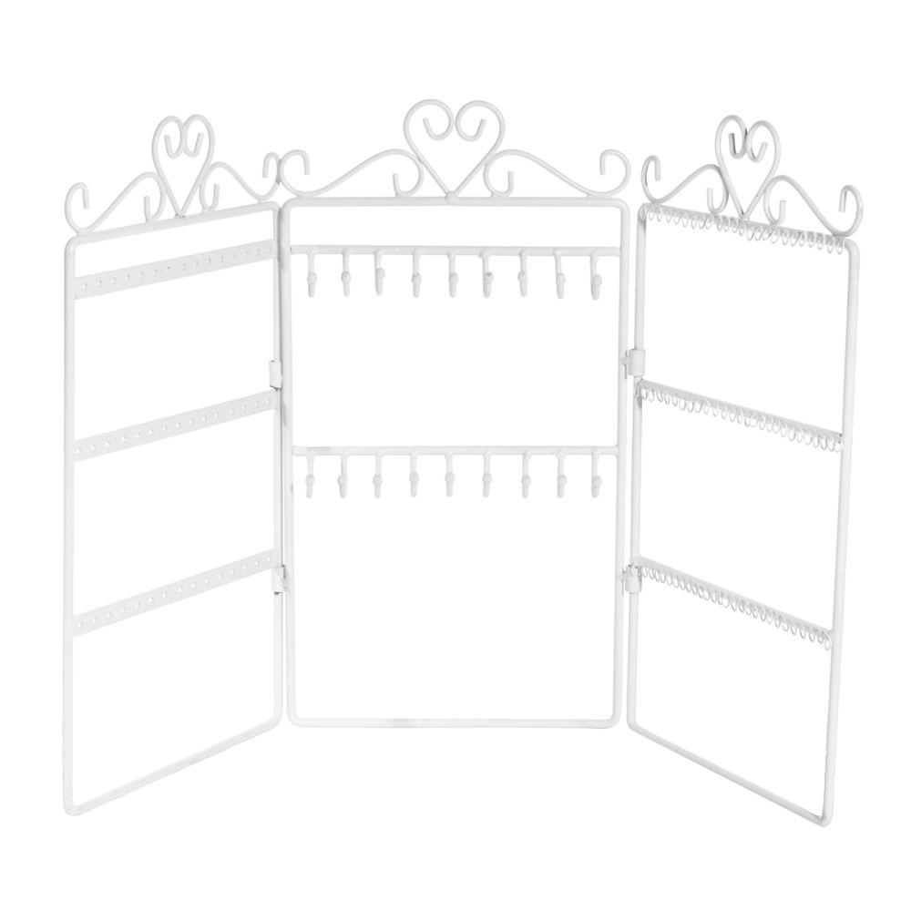 porte bijoux mural 3 panneaux cl o maisons du monde. Black Bedroom Furniture Sets. Home Design Ideas