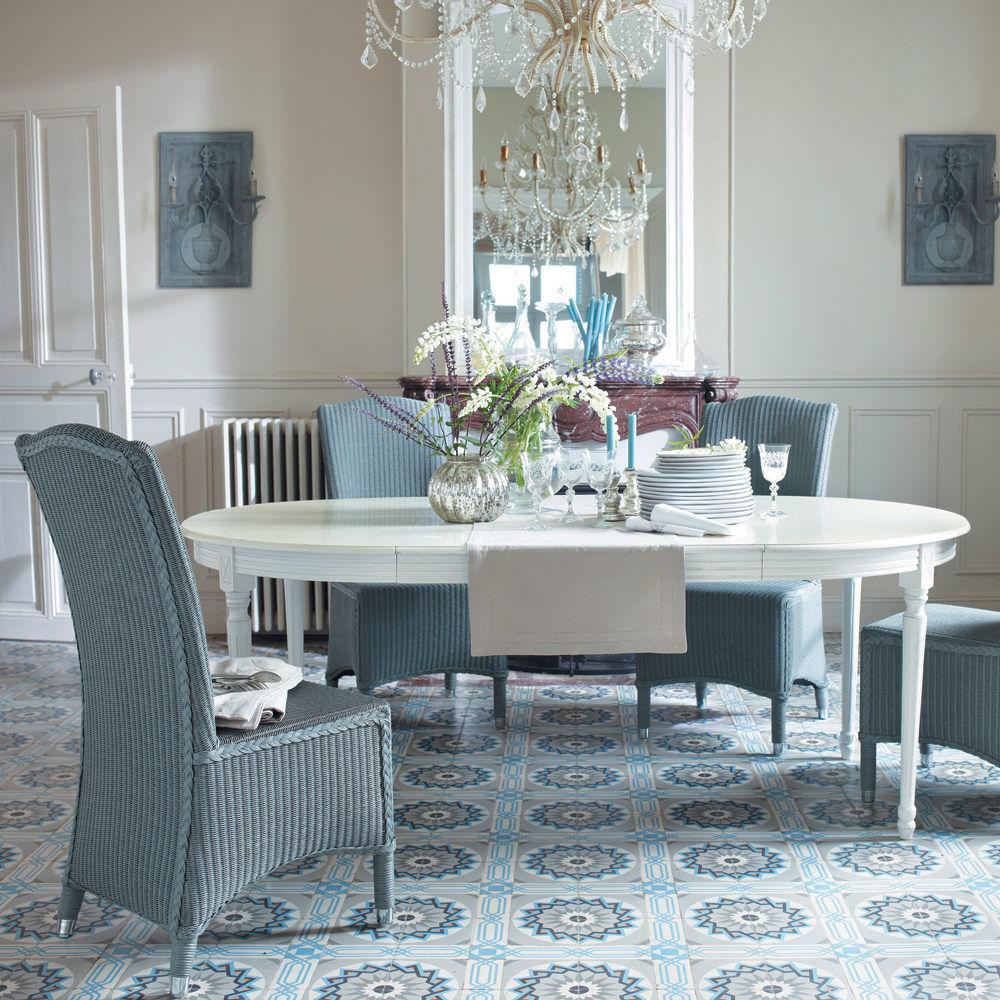Tavolo da pranzo bianco louis louis maisons du monde - Sillas comedor maison du monde ...