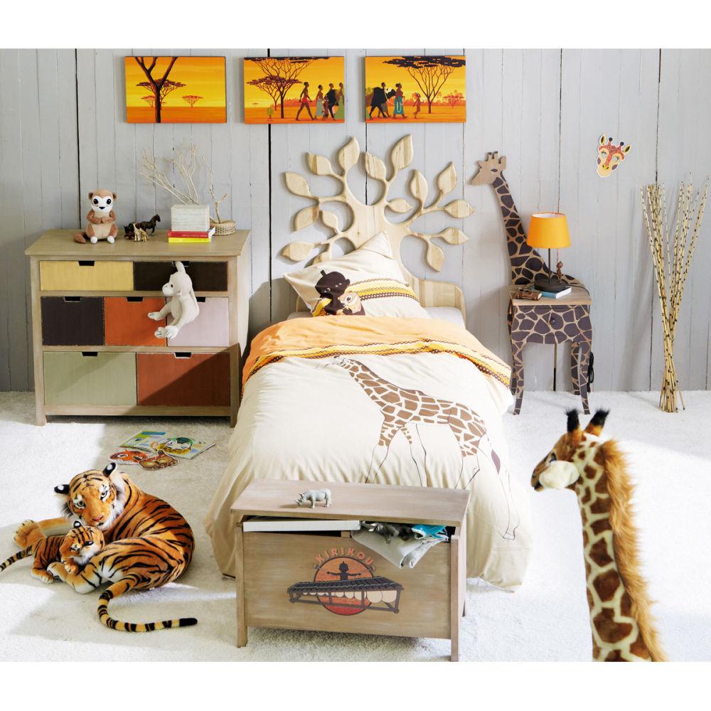 Set van 2 savanne pluche tijgers maisons du monde - Decoration chambre bebe jungle ...
