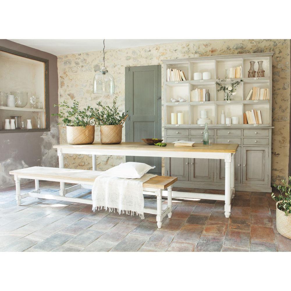 Panca Per Tavolo Da Pranzo Rustico Da Cucina Legno Massello Noce  #604C39 1200 1200 Panca Ikea Per Esterno