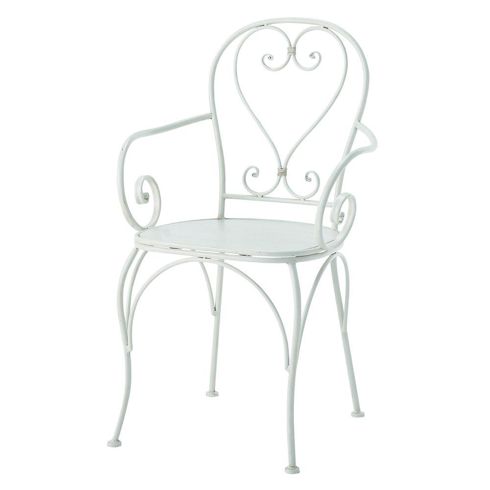 Coussin d 39 assise pour fauteuil de jardin for Chaise kettler blanche