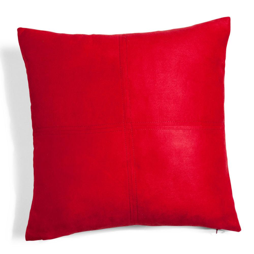 FR fr produits fiche coussin rouge  x cm swedine