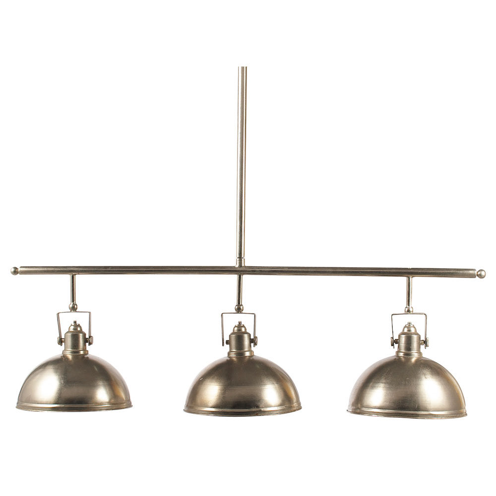 Suspension triple en m tal champagne l 128 cm franklin maisons du monde - Maison du monde suspension ...