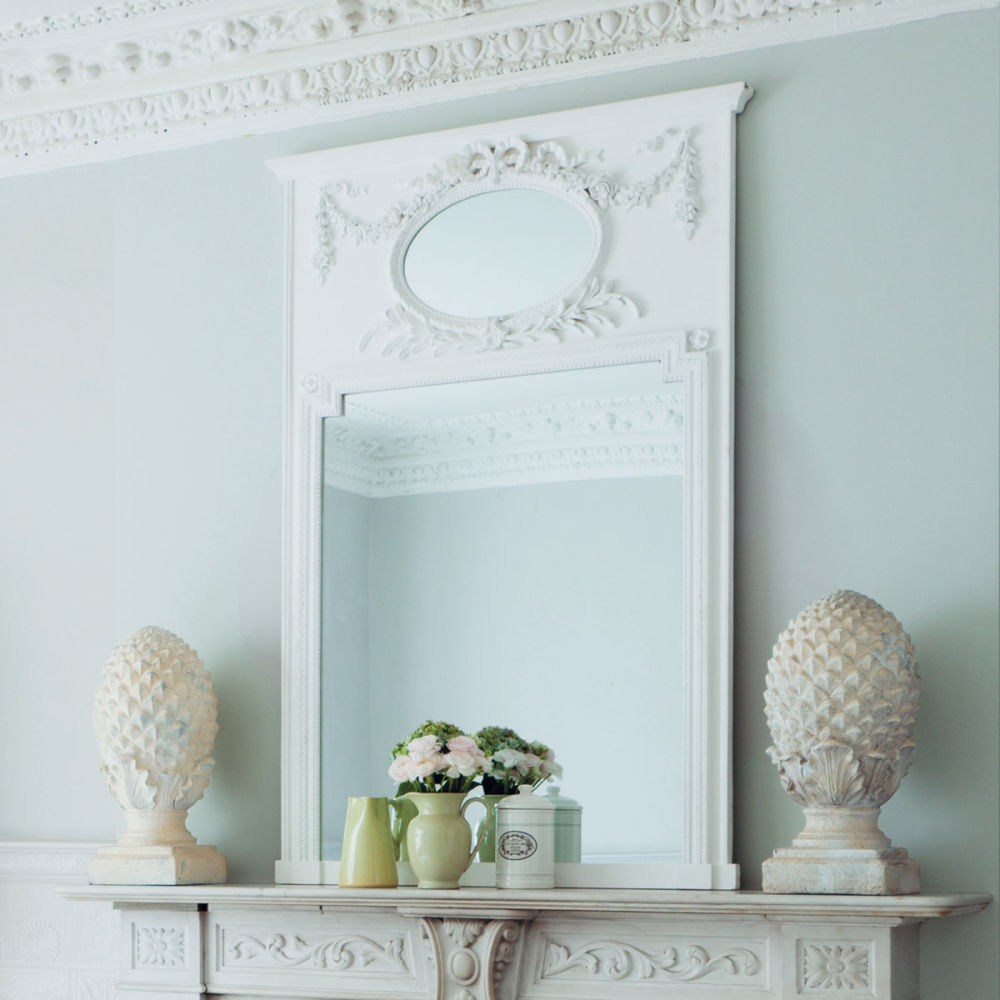 Specchio mirano bianco maisons du monde for Grand miroir maison du monde