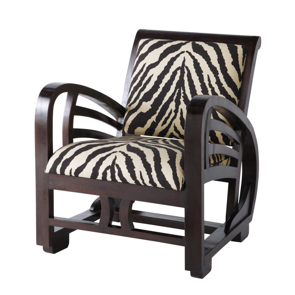 fauteuil zebre maison du monde ventana blog. Black Bedroom Furniture Sets. Home Design Ideas
