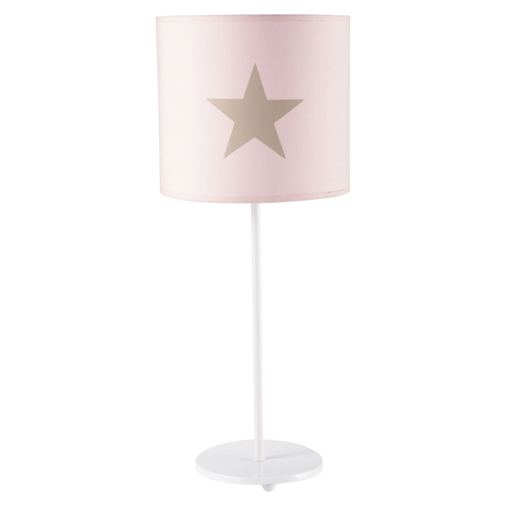 great lampe enfant rose pastel maisons du monde with lampe de chevet fillette. Black Bedroom Furniture Sets. Home Design Ideas