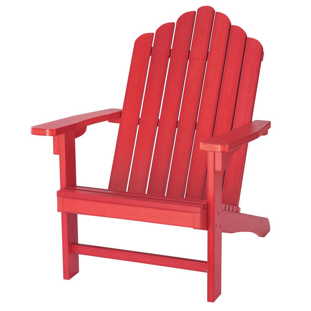 chaise de jardin rouge. Black Bedroom Furniture Sets. Home Design Ideas