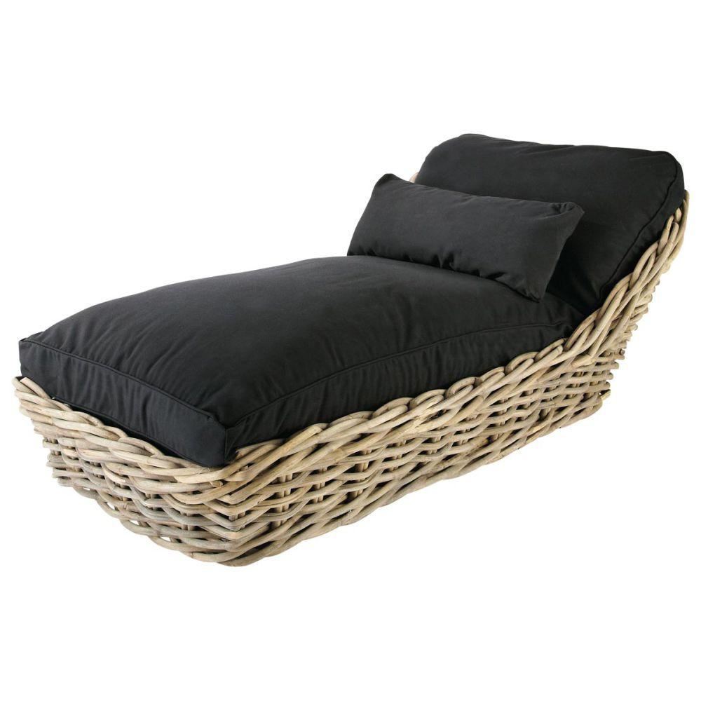 chaise longue maison du monde bains de soleil et chaises. Black Bedroom Furniture Sets. Home Design Ideas