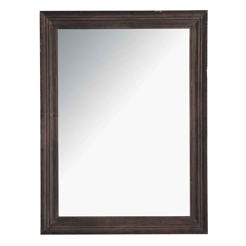 Cadre bois fonc resine de protection pour peinture for Miroir cadre bois