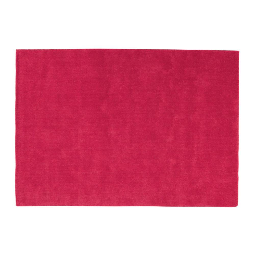 tapis soft rouge 140x200 maisons du monde. Black Bedroom Furniture Sets. Home Design Ideas