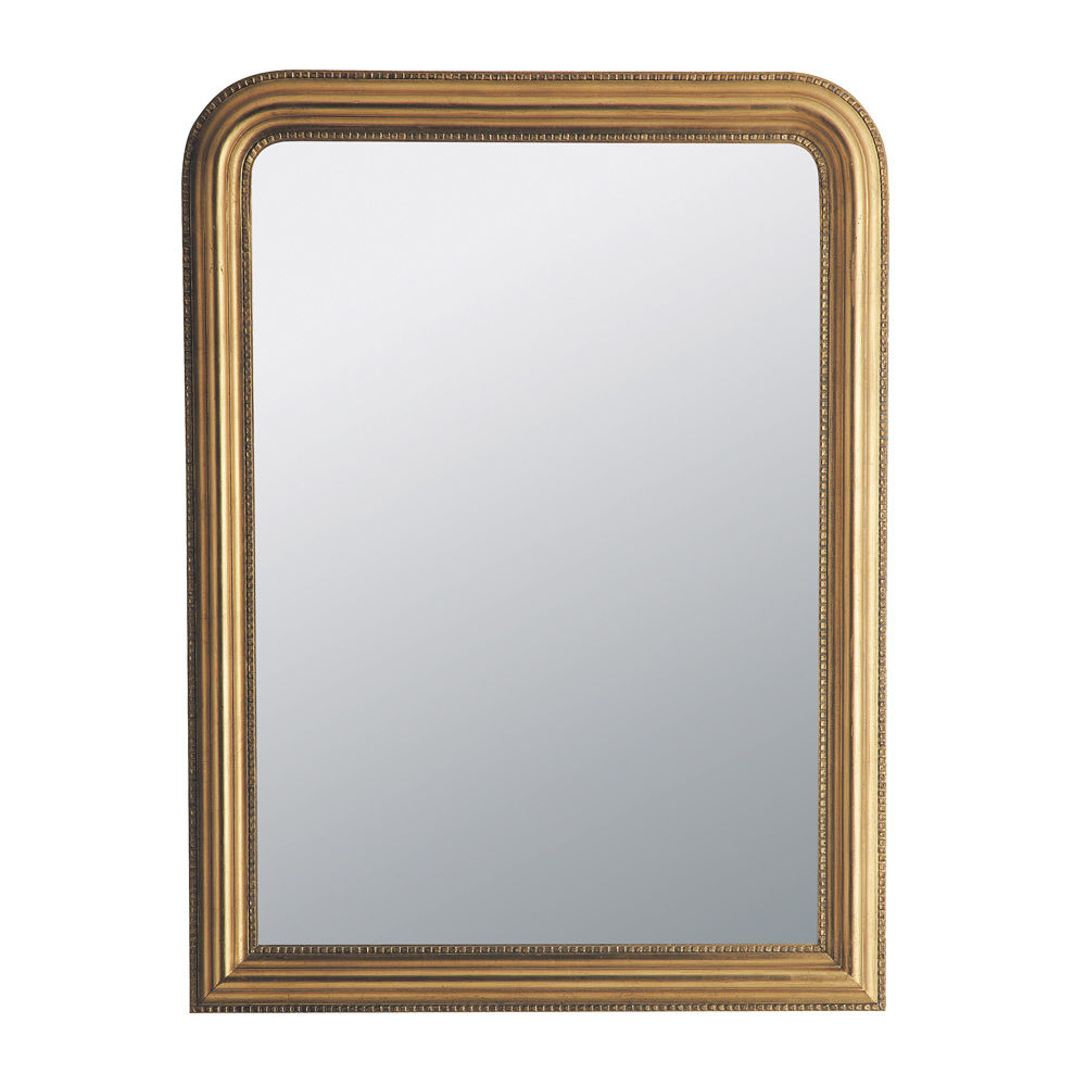 Miroir c leste or 120x90 maisons du monde for Miroir adhesif grand format
