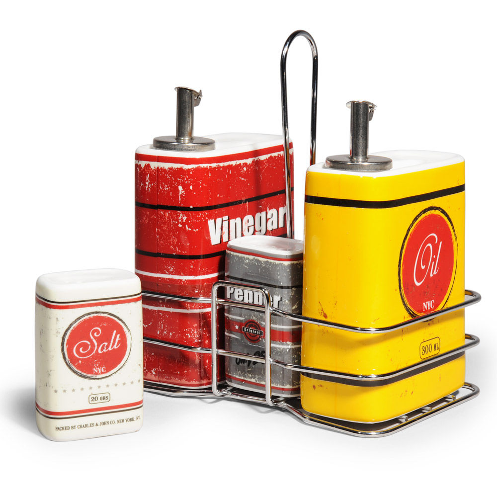 Vintage Keuken Accessoires : Vintage Cruet Set