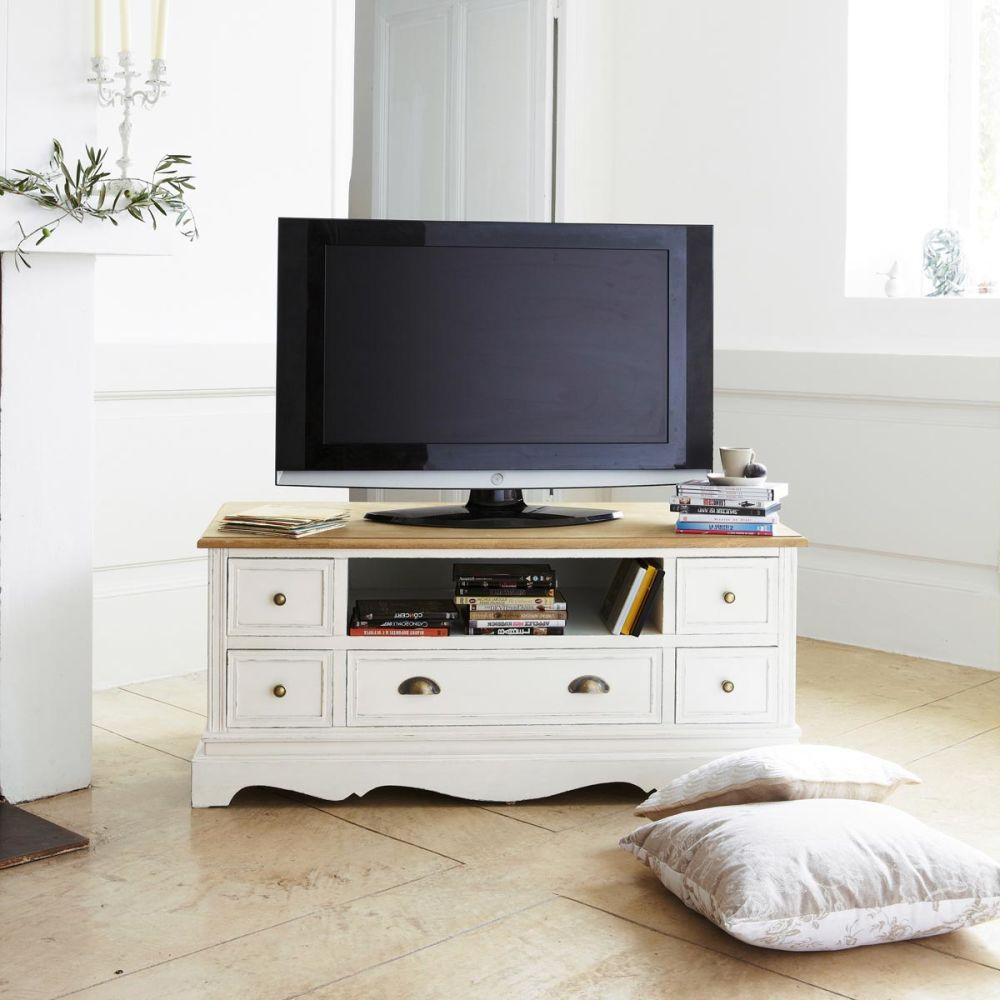 Meubles Blanc Maison Du Monde – Chaioscom -> Meuble Tv Maison Du Monde Blanc