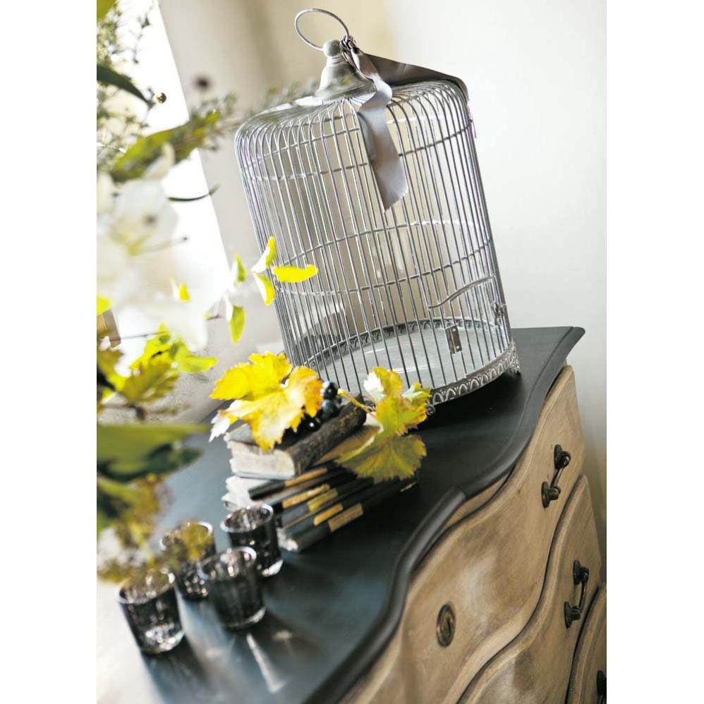 Cage oiseau maisons du monde for Cage a oiseau deco