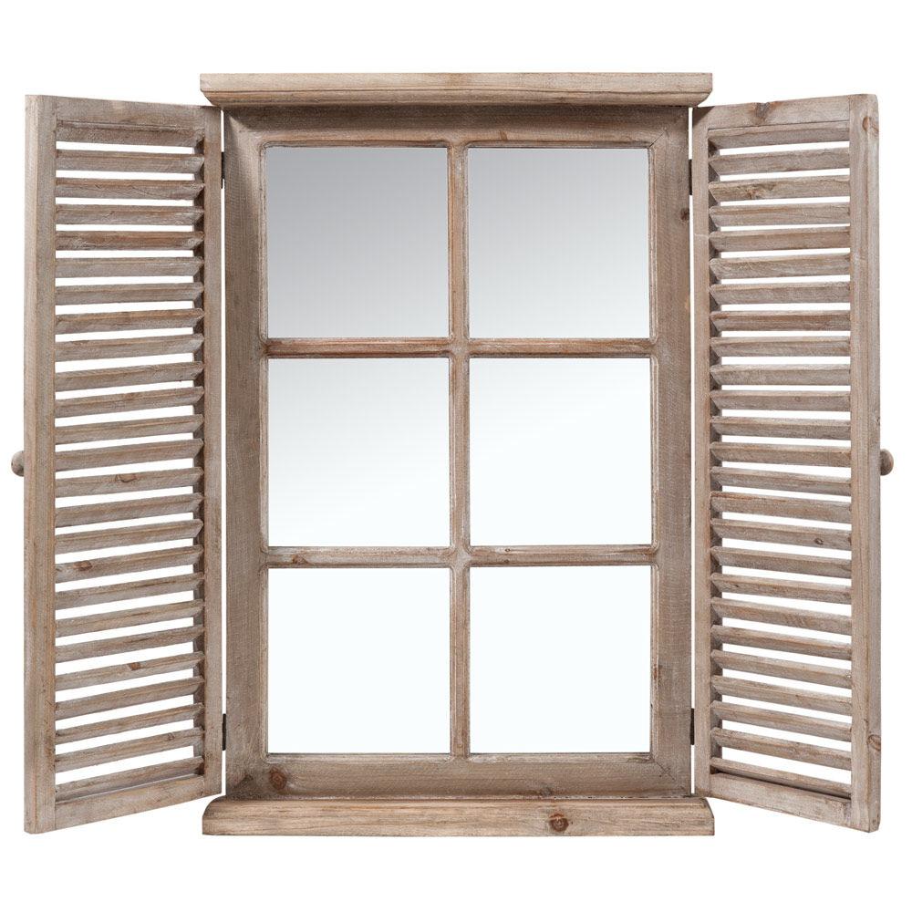 Miroir Bois Flotte Maison Du Monde : Miroir en bois H 71 cm CONSTANCE Maisons du Monde