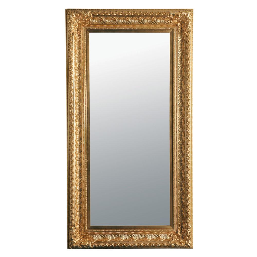 Spiegel marquise goudkleurig 180x95 maisons du monde - Spiegel barokke thuis van de wereld ...