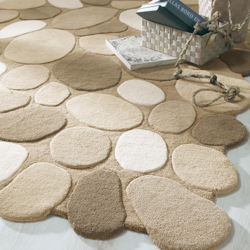 Tapis salle de bain galet 15 tapis de bain motif galets 1700g m la redout - Tapis de bain la redoute ...