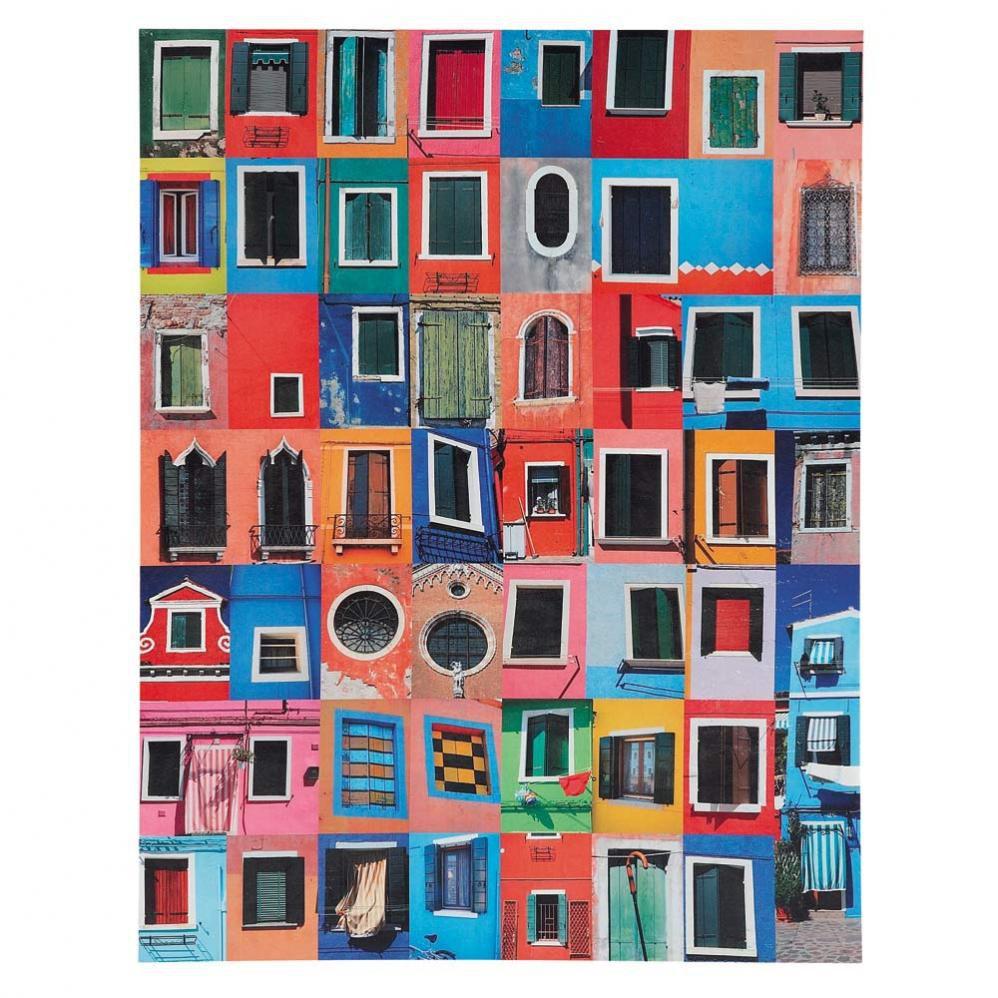 Toile fen tre du monde maisons du monde for Decoration tableau fenetre