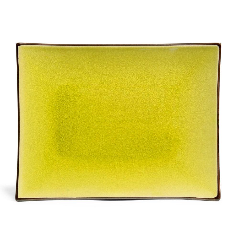 assiette plate green tea