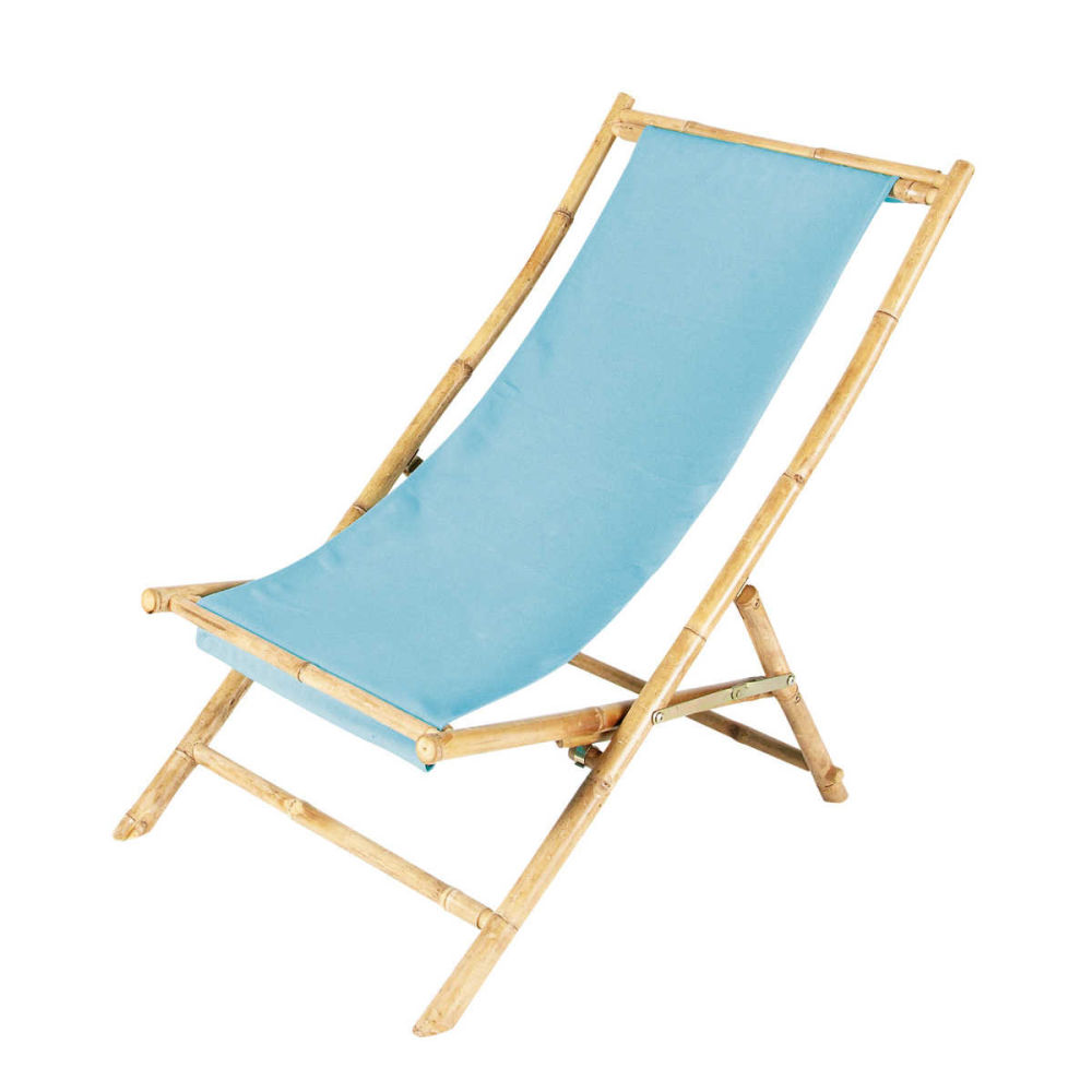 Chaise chilienne for Chaise longue jardin bambou