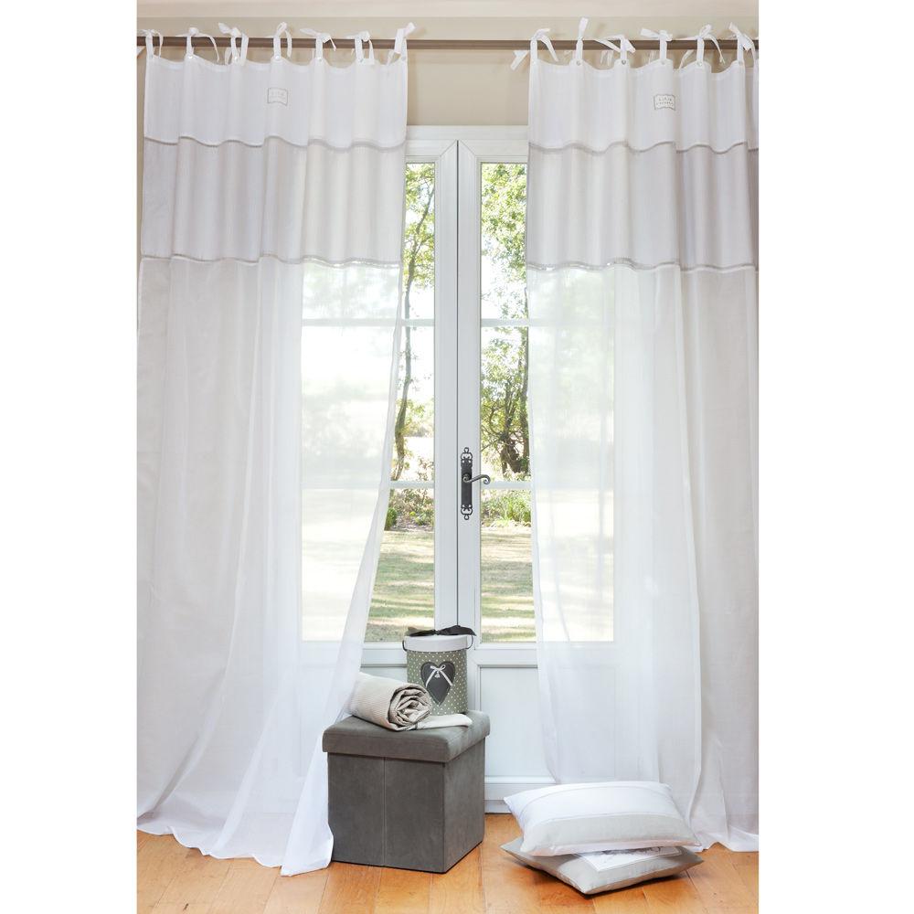 rideaux voilages maison du monde ventana blog. Black Bedroom Furniture Sets. Home Design Ideas