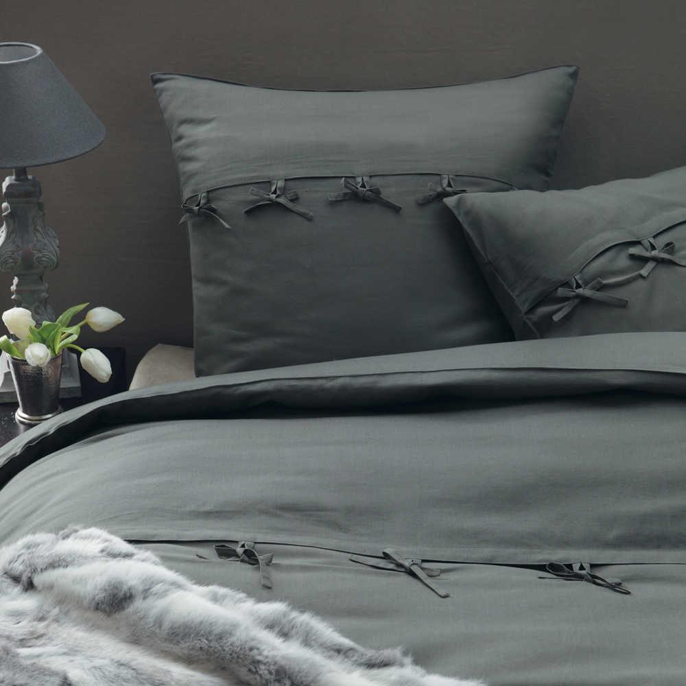 parure housse de couette lilas cosy 220x240 maisons du monde. Black Bedroom Furniture Sets. Home Design Ideas