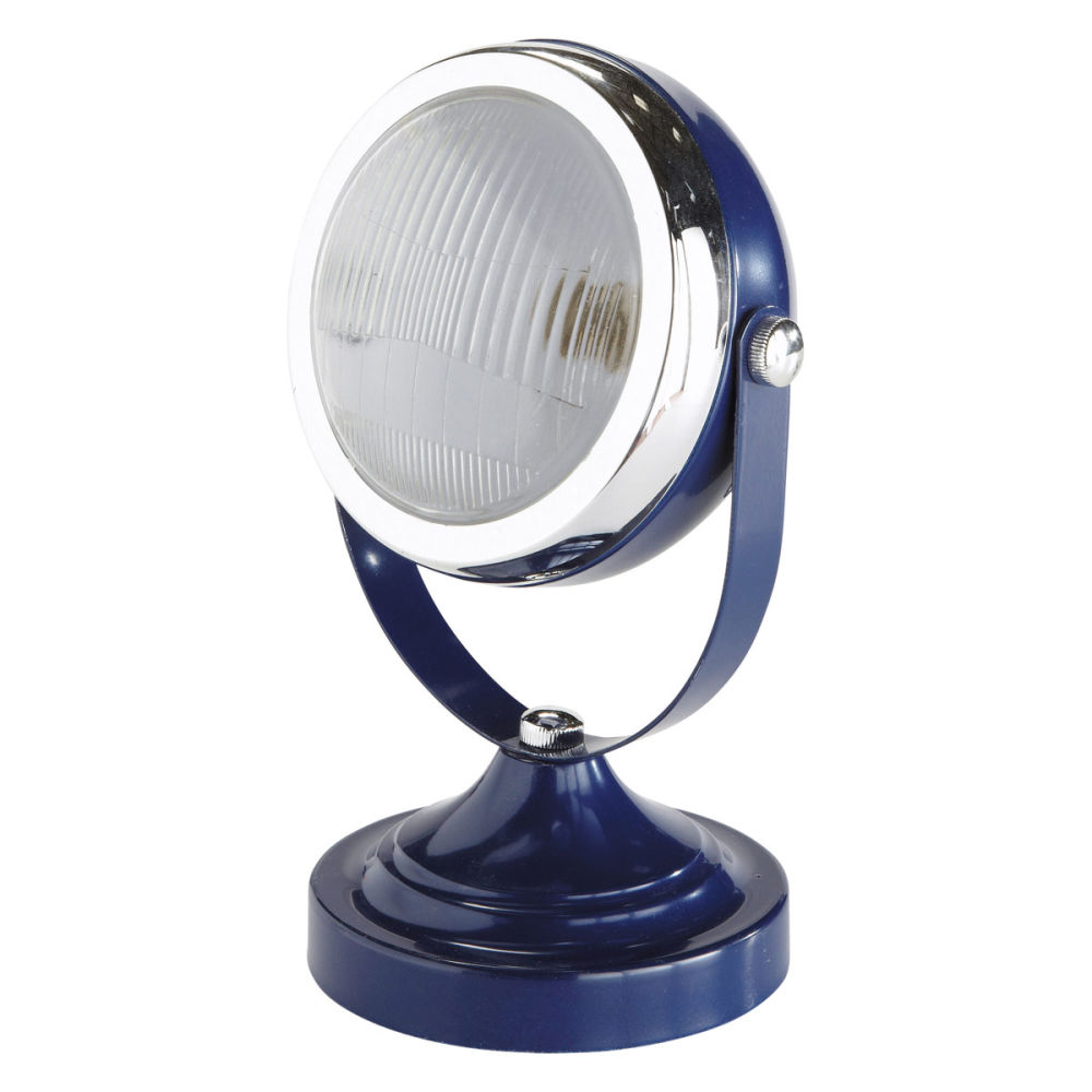 Meuble Chambre Bebe Maroc : Home › Decoration › Light fittings › Car headlight lamp, blue