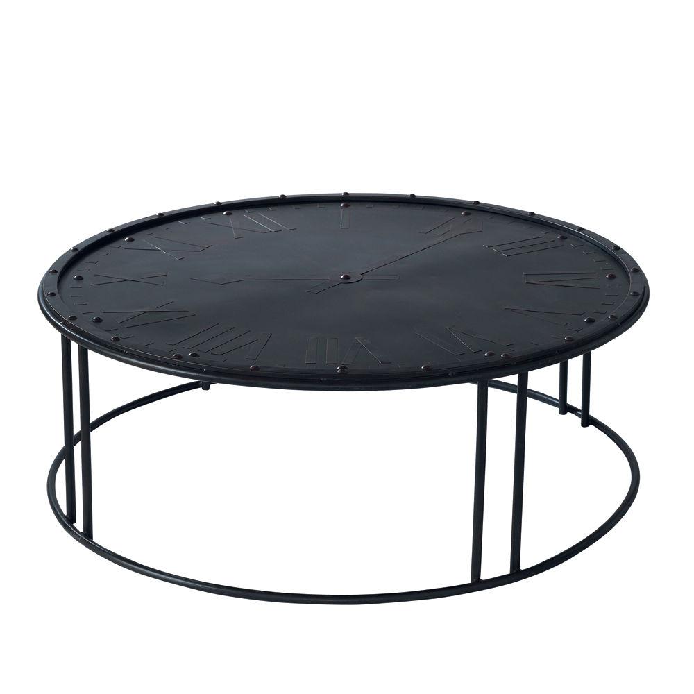 Table basse ronde metal ukbix for Table basse ronde metal