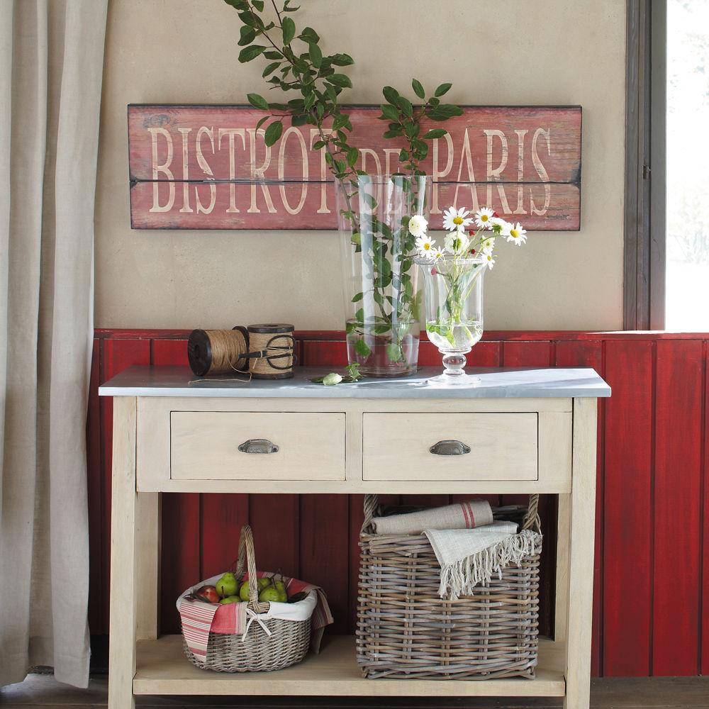 tableau bistrot de paris maisons du monde. Black Bedroom Furniture Sets. Home Design Ideas