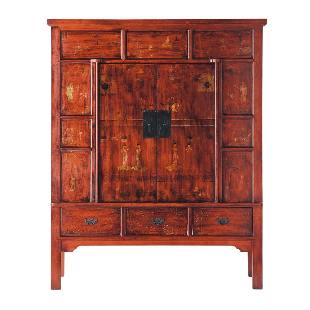 meuble tv shangha maisons du monde. Black Bedroom Furniture Sets. Home Design Ideas