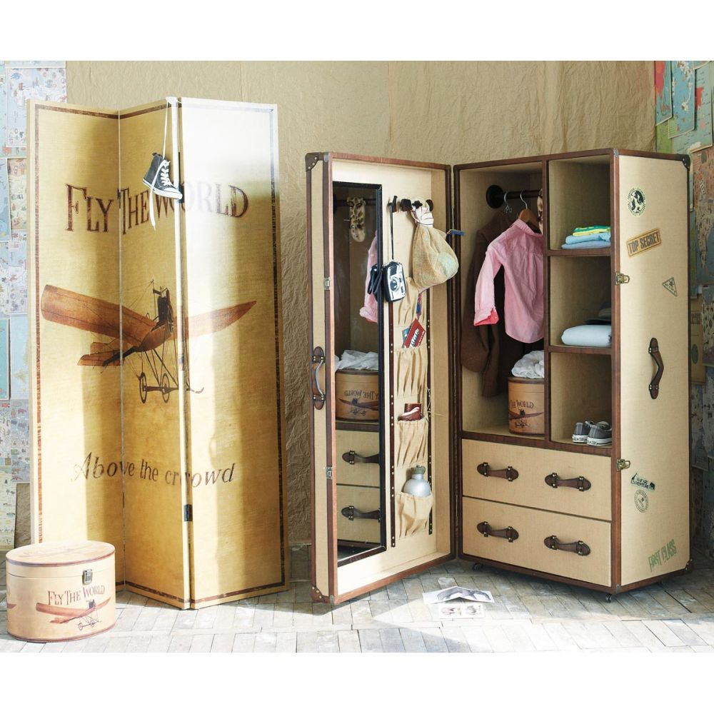 dressing enfant phileas fogg maisons du monde. Black Bedroom Furniture Sets. Home Design Ideas