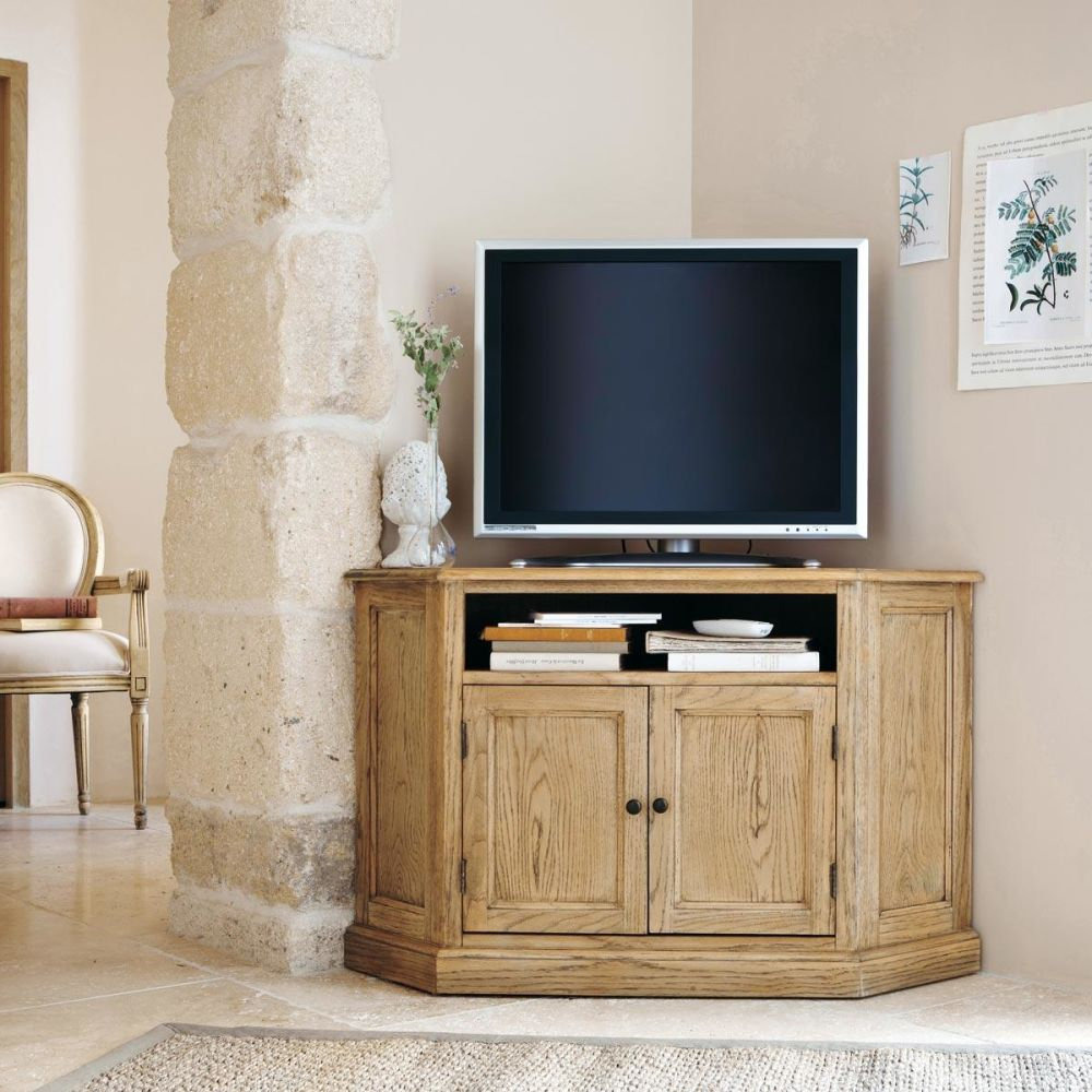 Meuble tv dangle acacia massif beauregard - Meuble en acacia massif ...