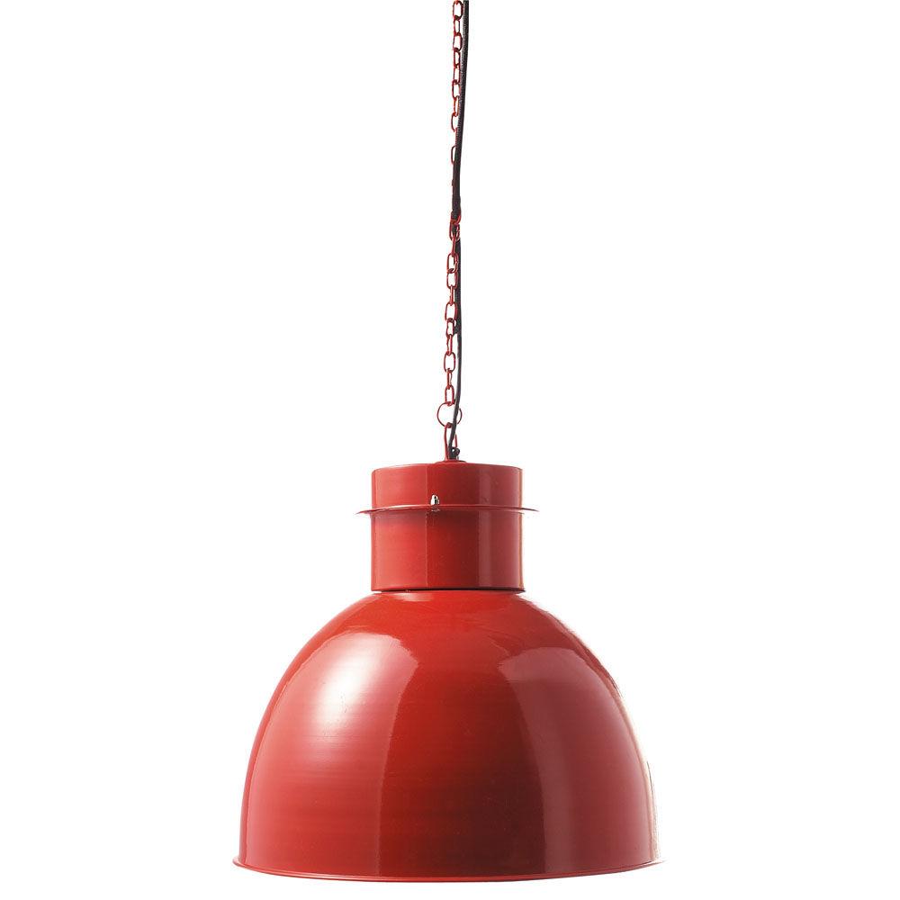 lampadari coin : Suspension en metal rouge D 42 cm CANBERRA Maisons du Monde
