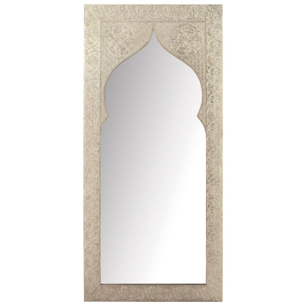 Miroir en bois h 160 cm latipur maisons du monde pictures for Miroir antique en bois