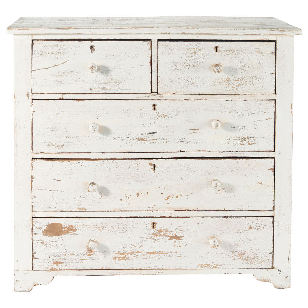 Commode blanche - Commode profondeur 35 ...
