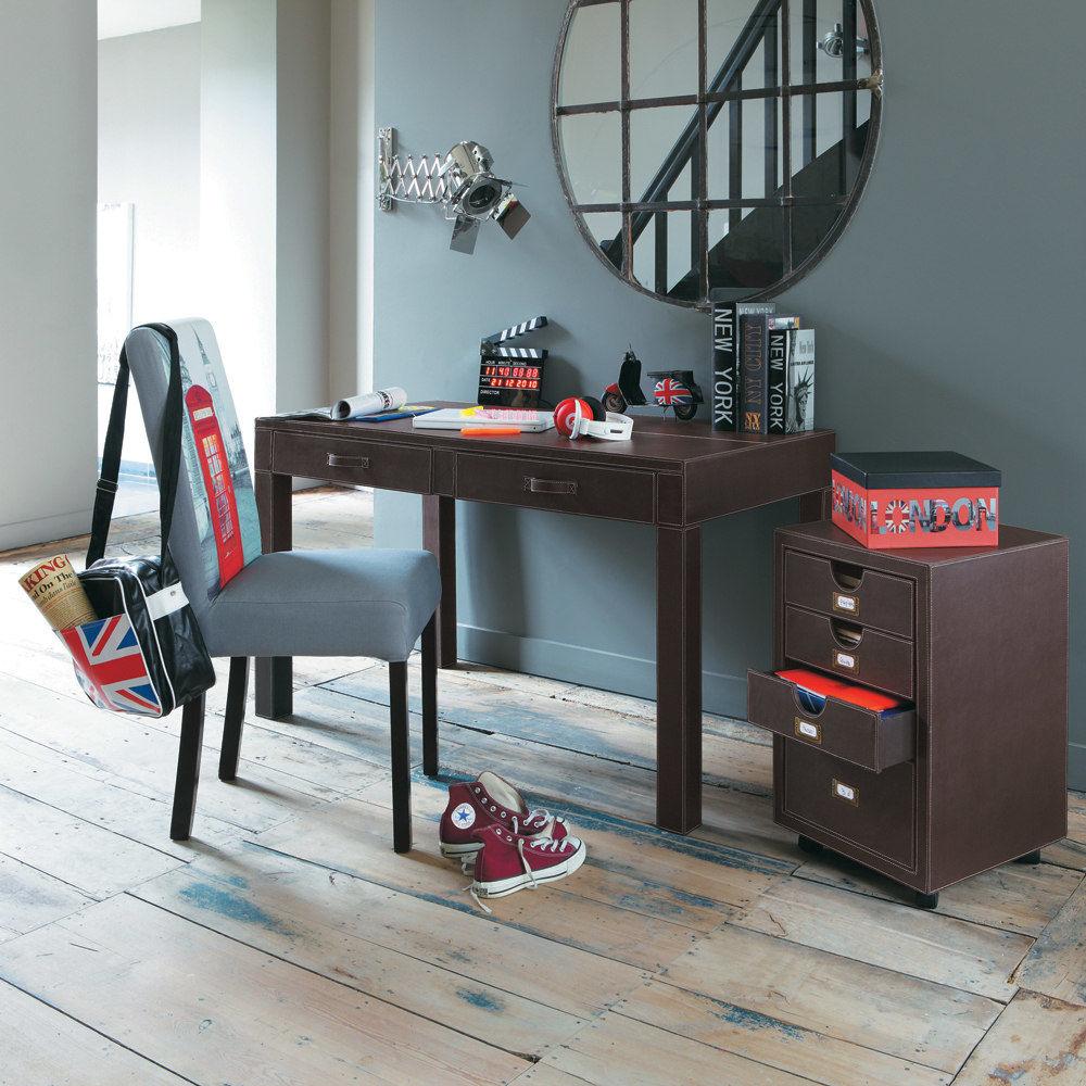Housse de chaise grise margaux maisons du monde - Housse de chaise grise ...